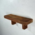 "Rustic brown wall shelf 18 wide 5"" deep,handcrafted from weathered wood."