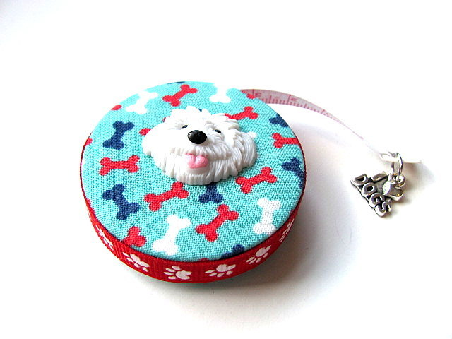 Retractable Measuring Tape Dog Words and Symbols Tape Measure