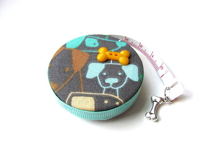 Tape Measure Dog Mix Retractable Measuring Tape