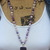 Beaded Dream Necklace with Carved Pendant by KnottedUp With A Vibration of