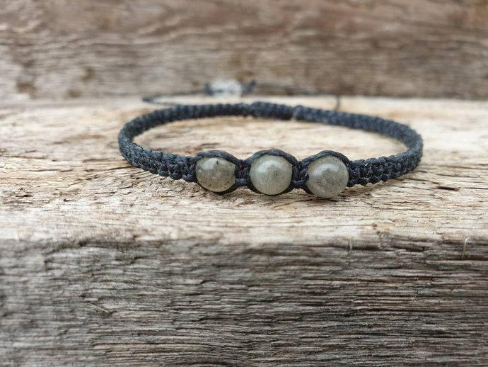 Labradorite Shambala Bracelet | transformatiom ~ perseverance ~ banishes