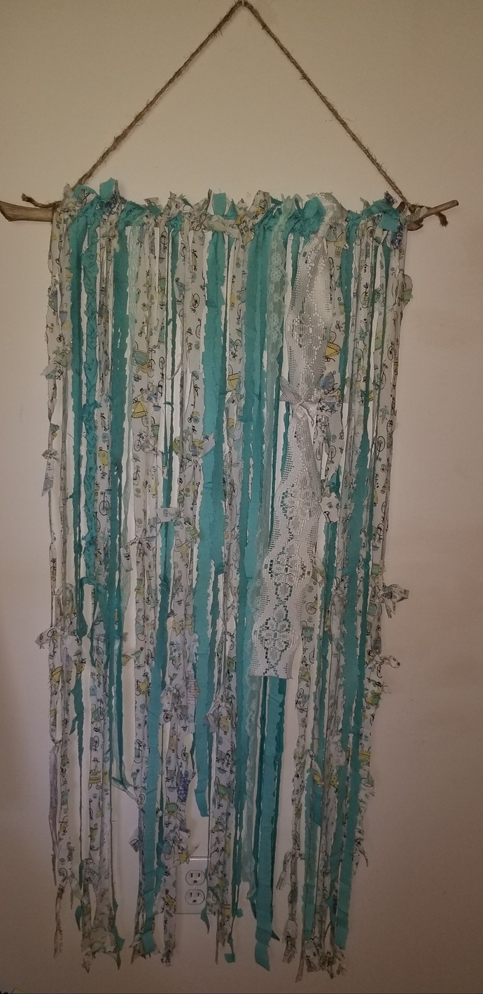 """Vintage Summer"" Driftwood Wall Hanging"
