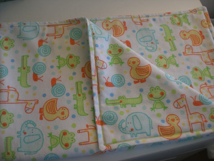 FREE SHIPPING Jungle Animal baby crib/receiving/swaddling blanket