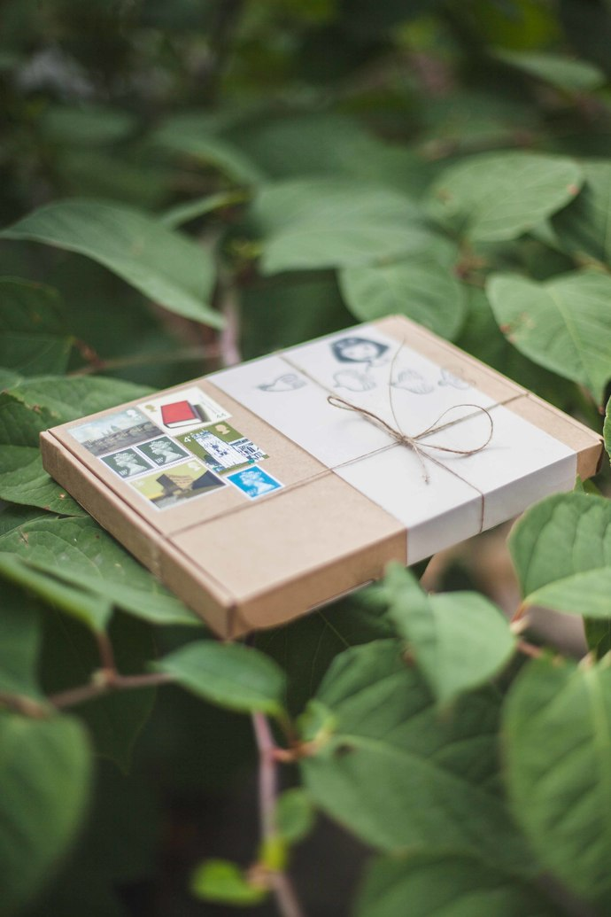 *pre-order* Stationery treasure boxes - YEARLY subscription - perfect as a gift