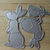 3pc Bunny Rabbit Metal Cutting Dies STYLE #2