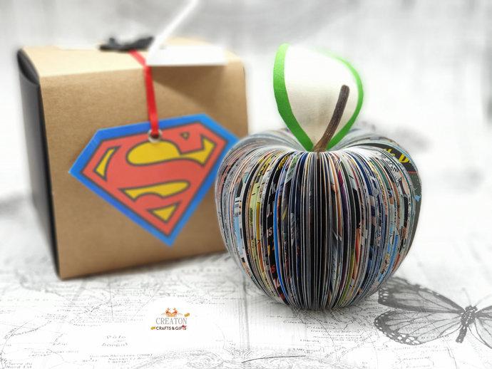 Superhero Gift  - Super Anniversary Gift for man - Comic Art - comic book gift -