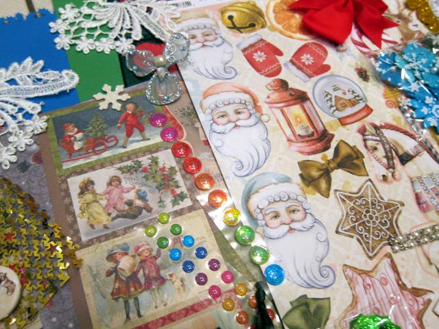 Christmas in July MEGA Scrapbook Journaling Cardmaking Inspirational Kit