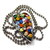All About The Buttons Heart Pendant Necklace
