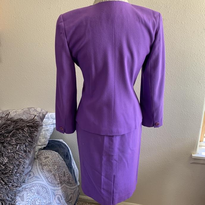 Vintage Christian Dior The Suit skirt set