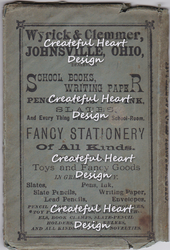 Digital Scan - Old Advertisement - 1875