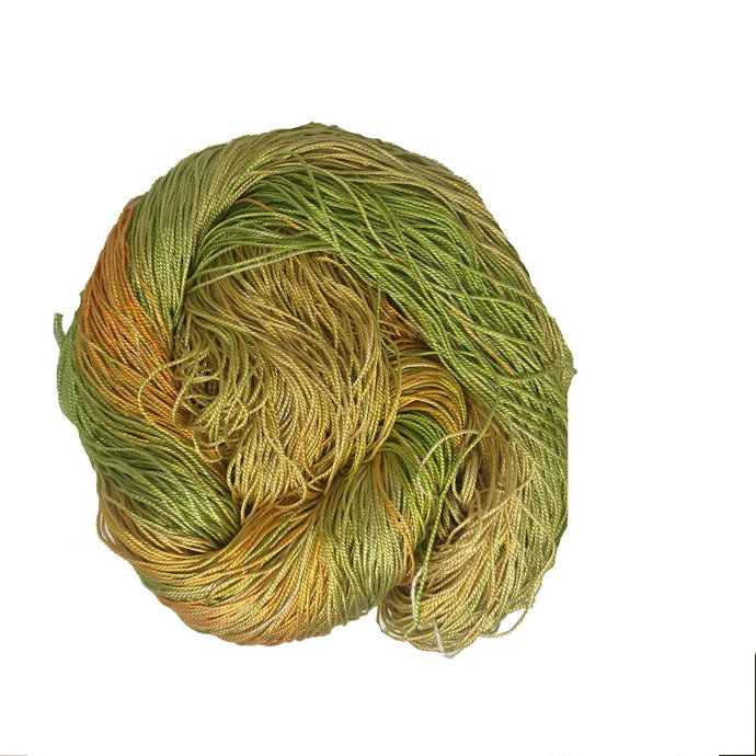 100% Pure Mulberry Silk 3 ply yarn - 260 yards - 50 gms - Multicolor - knitting,