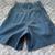 Vintage Faconnable denim shorts