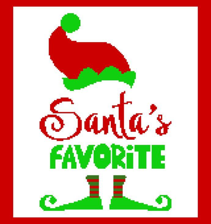 Santa's Favorite (Elf Hat & Feet)