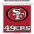 49ers Pillow Crochet Graph Pattern