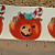 Pumpkin and Candy Ceramic Waterslide Decals D10-56