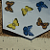 Butterflies Ceramic Waterslide Decals D10-55