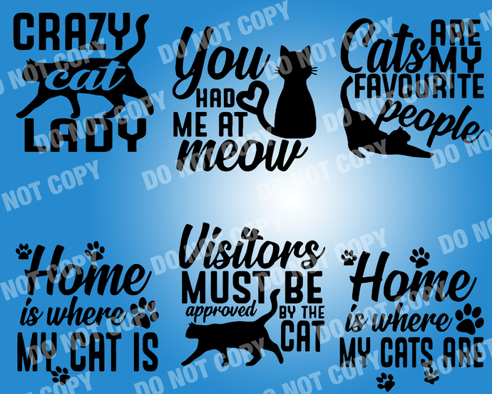 Cat Lover Quote SVG, digital file,svg clipart,Cut File