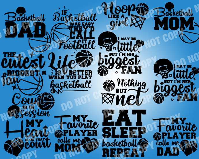 Basketball Quote SVG, digital file,svg clipart,Cut File