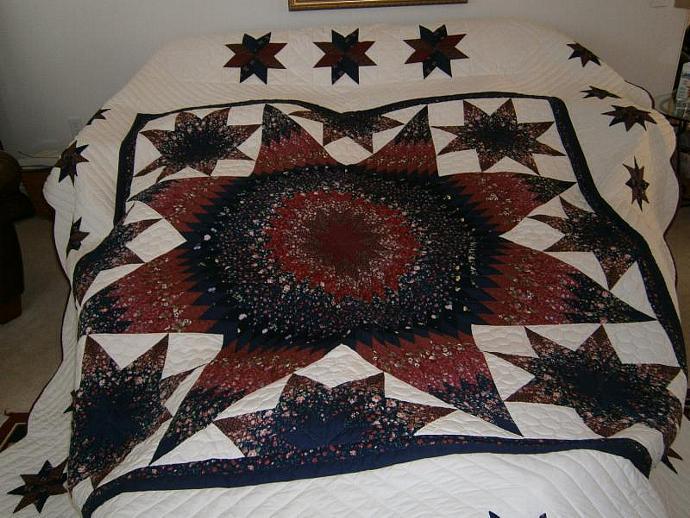 Star in Star Quilt
