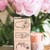 OURS Flower Label B DIY Rubber Stamp Set - perfect for journaling & happy mail