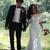 2019 Full Lace Wedding Dresses Mermaid Off Shoulder Half Sleeve Sweep Train
