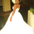African White Mermaid Wedding Dresses With Detachable Train V Neck See Through