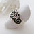 Sterling Silver Spiral Ring - Unique Statement Rings for Women - Silver Ring