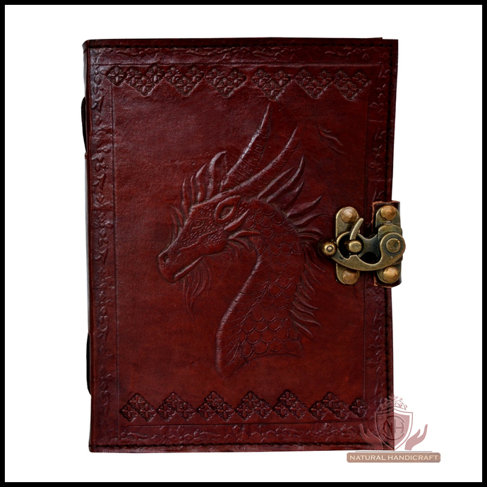 Games of Thrones Dragon Embossed Handmade Leather Journal Notebook Diary Writing