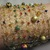 Handcrafted Gold Knit Wire Beaded Cuff Bracelet