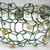 Double-strand Green and Gold Hand-Knit Wire Beaded Bracelet