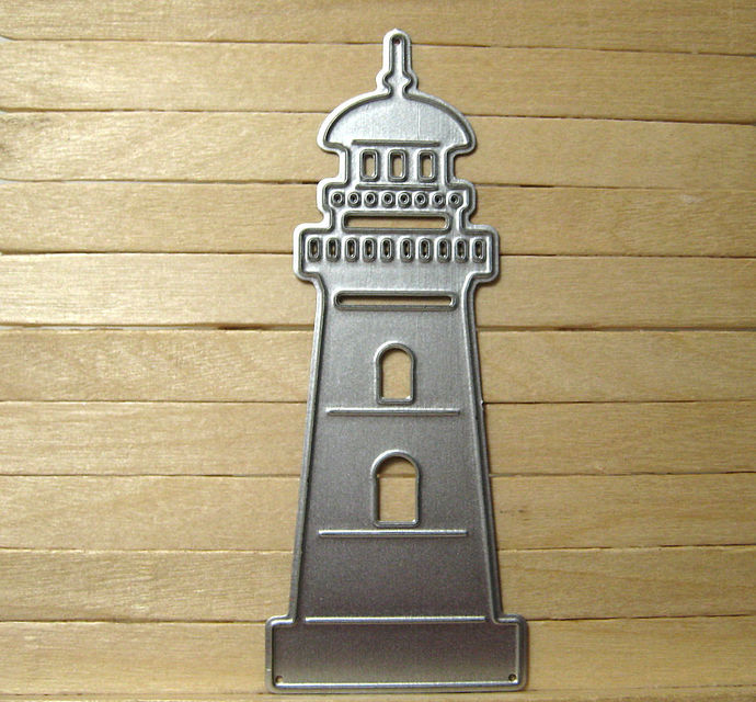 Lighthouse Metal Cutting Die Style #2