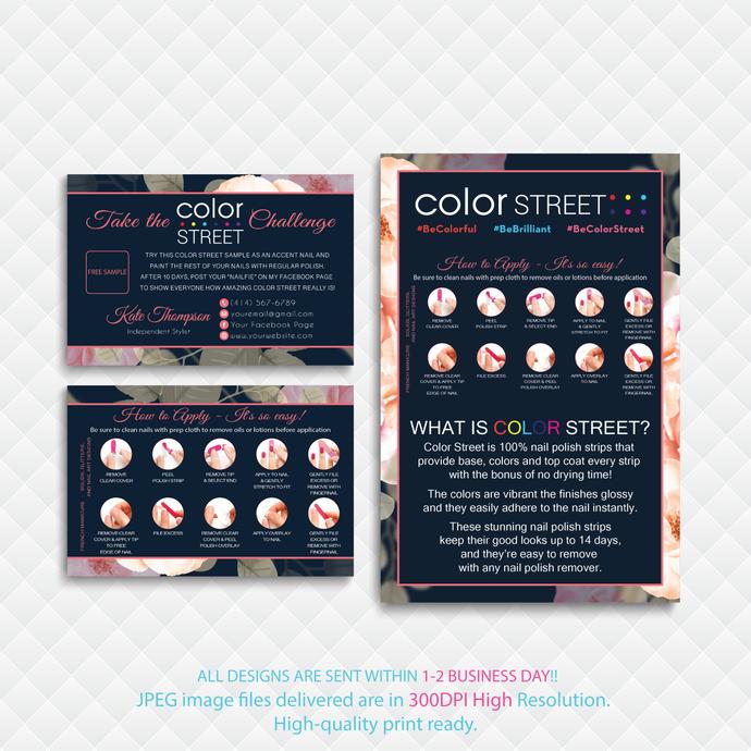 Color Street Marketing Kit, Color Street Marketing Package, Printable Digital