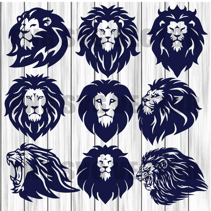 Lion King Bundle Svg, Lion SVG, Lion svg file for cricut, lion svg designs, lion