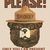 Smokey The Bear Cross Stitch Pattern***LOOK***X***INSTANT DOWNLOAD***