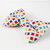 Colorful Cotton Bow Tie for Cats, Slide on, Removable, Bows for Pets, Weddings,