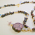 Natural Tiger Eye and  Jade Necklace