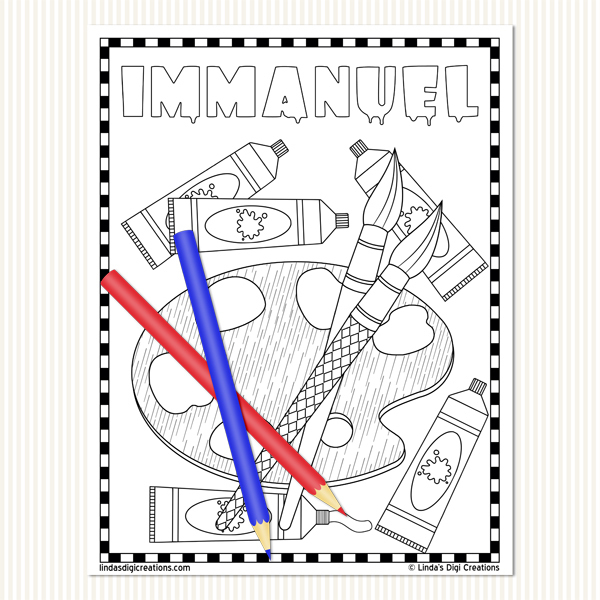 He is... Set 2_Printable Coloring Pages