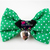 Sassy Sweetheart Polka Dot Bow for Cats, Green, Pink, Pet Fashion, Cat