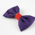 Fine Polka Dot Purple Bow Tie for Pets, Bow Ties for Cats, Pet Accessories