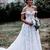 2019 Bohemian Wedding Dresses Off The Shoulder Lace 3D Floral Appliques A Line