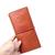 JM006 Vintage Full Grain Cowhide Leather Long Wallet Bi-fold Wallet Card Holder