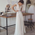 Boho Wedding Dresses Lihi Hod 2020 Bohemian Bridal Gowns with Cap Sleeves and V