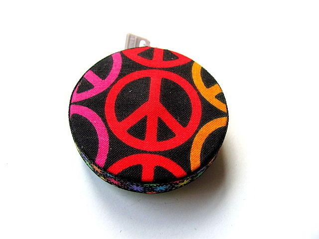 Measuring Tape Peace Symbol Retractable Pocket Tape Measure