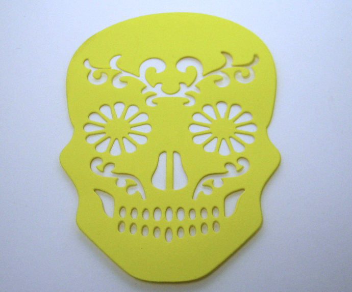 Sugar Skull Day of the Dead, Halloween Metal Cutting Die