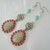 Boho Earrings, handmade jewelry bohemian hippie gypsy pin up
