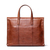 JM031 Men's Full Grain Leather Messenger Shoulder Laptop Bag Office Handbag