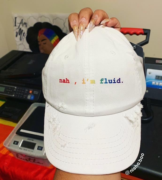 Nah I'm Fluid Cap