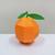 DIY Papercraft Orange,Papercraft fruit,Paper toy,Party decoration,Nursery