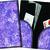 Server Wallet / Book - Purple Butterfly