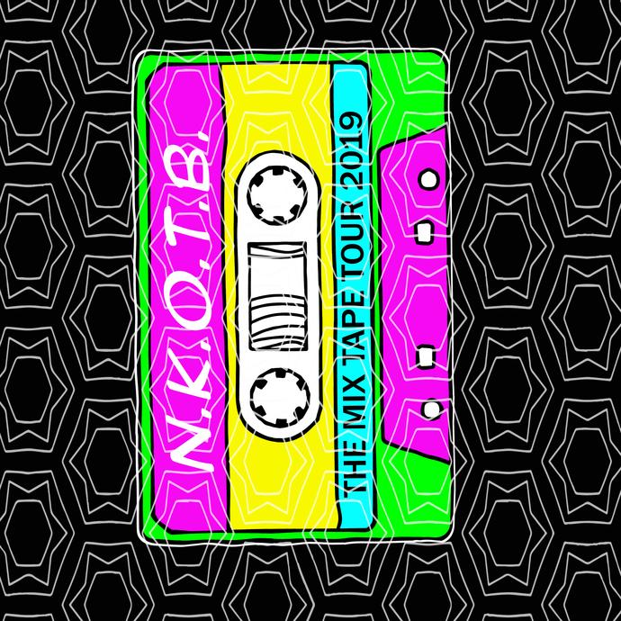 New Kids On The Block svg, New Kids On The Block, NKOTB svg,NKOTB the mix tape